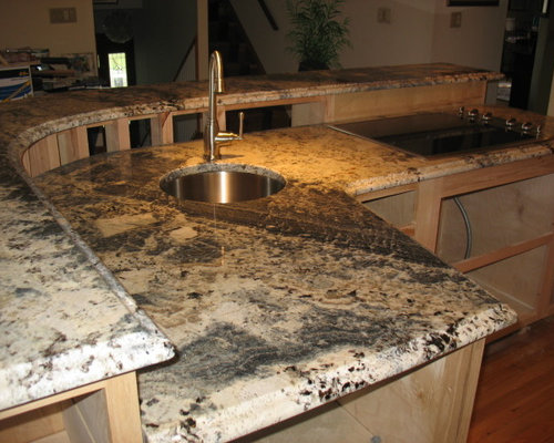 Blue Persa Granite Kitchen Countertops