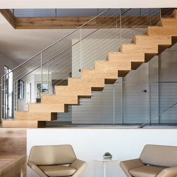 HAAS Architecture - Interior Stair Railing
