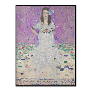 Mäda Primavesi by Gustav Klimt Artblock, Black, Medium