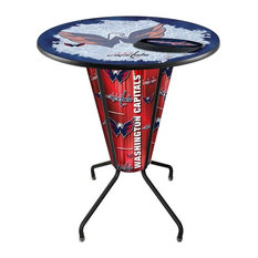 Lighted Washington Capitals Pub Table