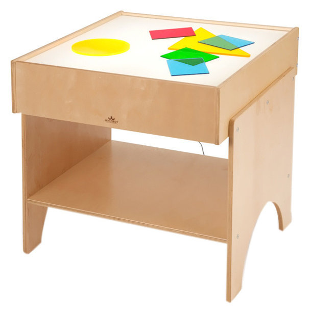Whitney Brothers Kids Children Learning Shapes Color Activity Light Table