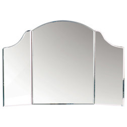 Contemporary Makeup Mirrors by Statements by J