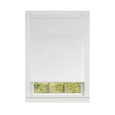 "Achim Importing Co. - Cordless Honeycomb Cellular Pleated Shade, White, 34""x64"" - Cellular Shades"