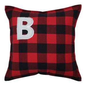 Buffalo Plaid B 17-inch Throw Pillow