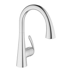 "Grohe LadyLux SD1, Brushed Stainless Steel, 12.48""x17.56""x2.76"""