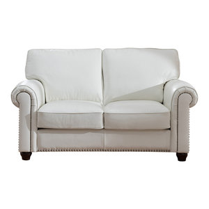 Excellent Barbara Leather Craft Sofa Traditional Sofas By Kemp Evergreenethics Interior Chair Design Evergreenethicsorg