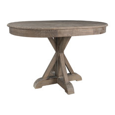 Gerald 47-inch Pine Oval Dining Table By Kosas Home