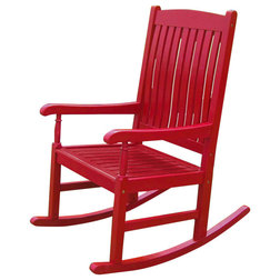 Contemporary Outdoor Rocking Chairs by International Caravan