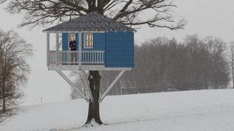 Baumhaus als Ruhepol mitten in der Natur
