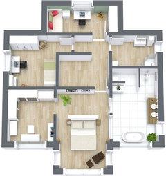Badezimmer Aufteilung Neubau | grafffit.com