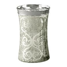 Tatara Group Mercury Glass Tumbler Bathroom Canisters