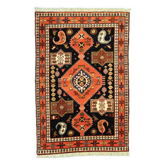 """Ghutshan Rug Oriental Rug 6'1""""x3'10"""" Hand-Knotted Classic"""