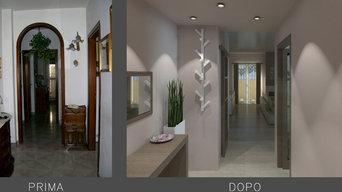 Proposta di ristrutturazione per un appartamento