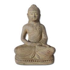 Peaceful Meditating Buddha Figurine