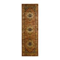 """Jaipur Rug, Brick, 2'4""""x8'"""