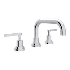 Rohl Lombardia 1.2 GPM Lavatory Faucet with 2 Lever Handles, Polished Chrome