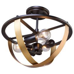 Transitional Flush-mount Ceiling Lighting by HedgeApple