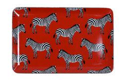 Red Zebra Tray