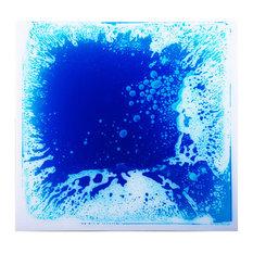 """19.7""""x19.7"""" Art3d Creative Dance Floor Liquid Fusion Floor Tile"""