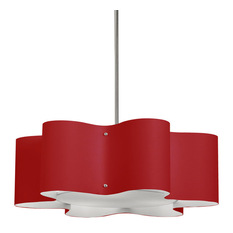 Red Pendant Lights Houzz