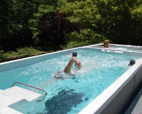 Endless Pools Dual Temperature Swim Spa Hot Tub Tubs
