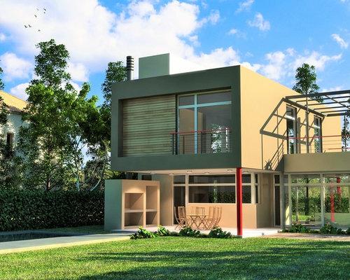 Render casa moderna minimalista for Render casa minimalista