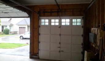 Interior garage doors & wall painting