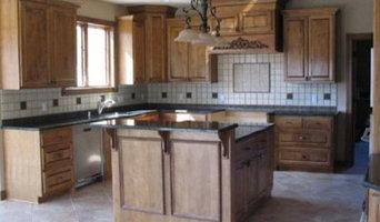 Medium Stain Birch Kitchen Remodels