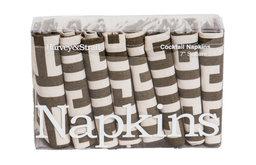 Greek Key Cocktail Napkins