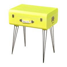 vidaXL Side Cabinet, Yellow, 49.5x36x60 cm