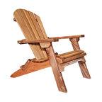 Western Red Cedar Adirondack Chair, Exterior Stain Finish