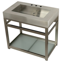 Contemporary Bathroom Vanities And Sink Consoles by Kingston Brass
