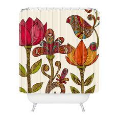 Valentina Ramos In The Garden Shower Curtain