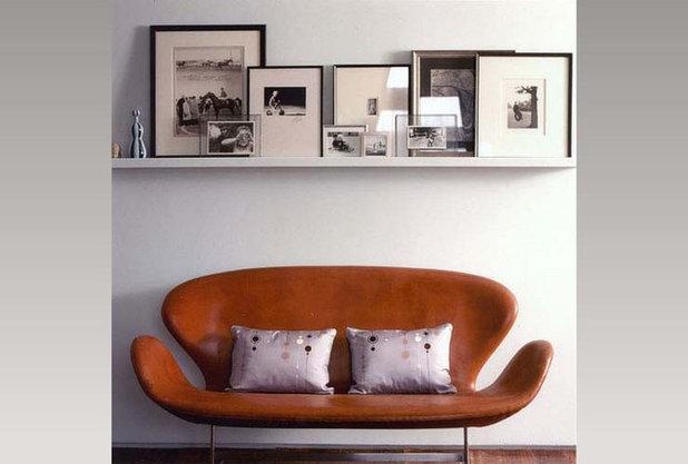 エクレクティック リビング by Roger Hirsch Architect