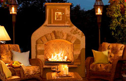 Sonoma Gas Outdoor Fireplace