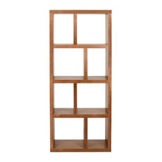 Berlin 4 Levels Bookcase, 70 cm., Walnut