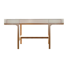 JNM Furniture - Ethan Desk in Modern Style - Desks and Hutches