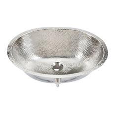 "Pavlov 19"" Oval Handcrafted Bathroom Sink"