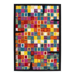 Guayama 275 Rug, Multi Blocks, 160x230 cm