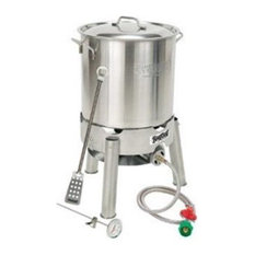 Bayou Classic 30 Quart Homebrew Kettle Starter Kit