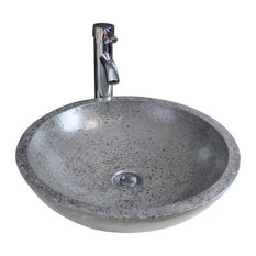 AQUA PLUS   Petra Bathroom Vessel Sink, 44 Cm   Bathroom Sinks