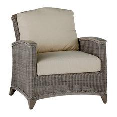 Summer Classics Astoria Lounge Chair, Linen Dove Cushion