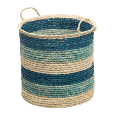 Colonial Mills Silhouette Utility Basket Pale Banana 18 by 12-Inch