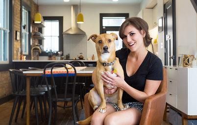 My Houzz: First-Time Cincinnati Homeowners Take On a Modern Rehab