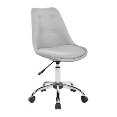 Rta Products L Techni Mobili Armless Task Chair With Ons Gray Office