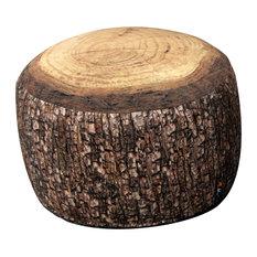 Tree Stump Floor Cushion, Forest