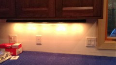 Undercabinet lighting dilemma and disappointment