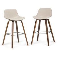 Bentwood Counter Height Stool in Natural - Set of 2