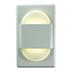 EZ Step White LED Step Light for Standard Junction Box
