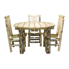 Rustic Outdoor Dining Tables Houzz